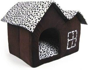 Luxury casa marrón perro