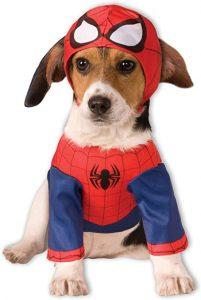 Disfraz Spider Man perro