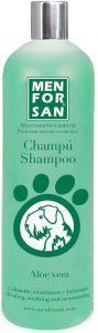 Shampoo aloe vera perro