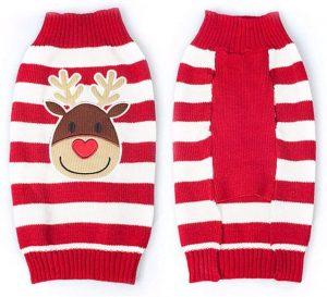 Suéter/Jersey Navidad perro