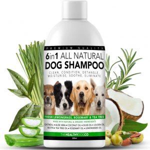 Champu natural perro