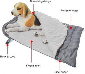 Saco dormir impermeable perro