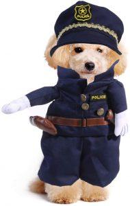 Disfraz policía perro