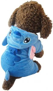 Disfraz Stitch perro