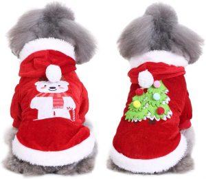 Abrigo Navidad perro