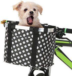 Cesta bici perro pequeno