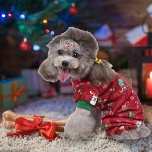 Pijama Navidad perro