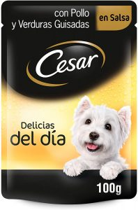 Comida humeda perro